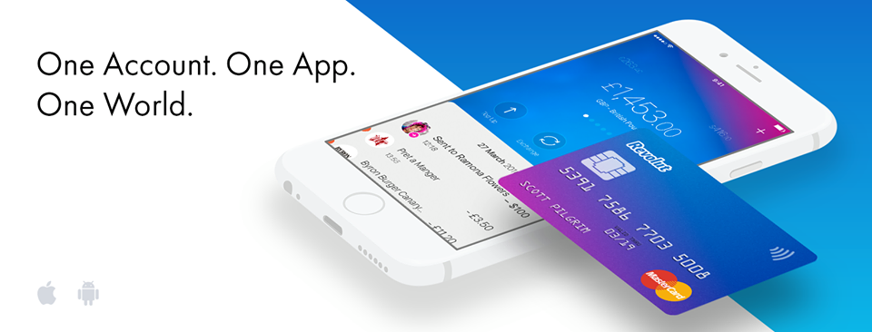 Revolut mobile app design