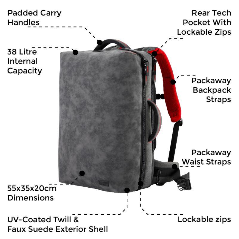 cabin max melbourne review the best travel backpack under 50. Black Bedroom Furniture Sets. Home Design Ideas